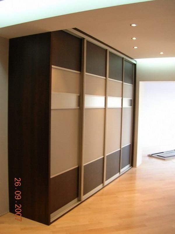 Шкаф с системой раздвижных дверей - купить линейные шкафы-ку.